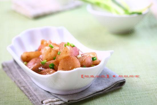 虾酱炖萝卜