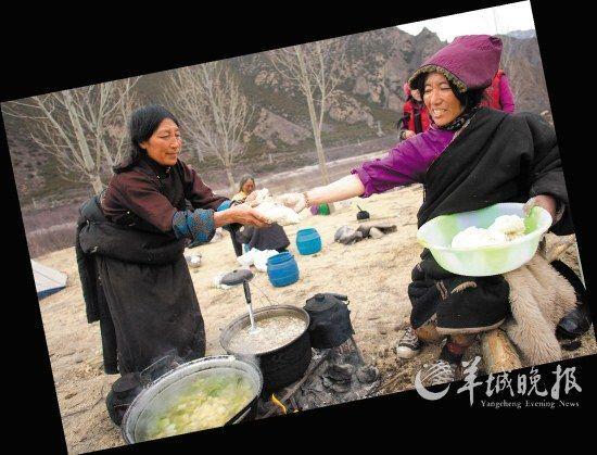简单的食物将为朝觐的人们提供热量