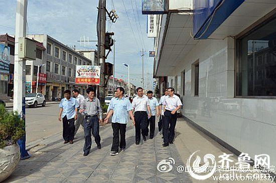 菏泽市中院执行局邀人大代表监督执行全程 并全程微博直播