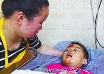 青岛司机撞6岁男童后逃逸