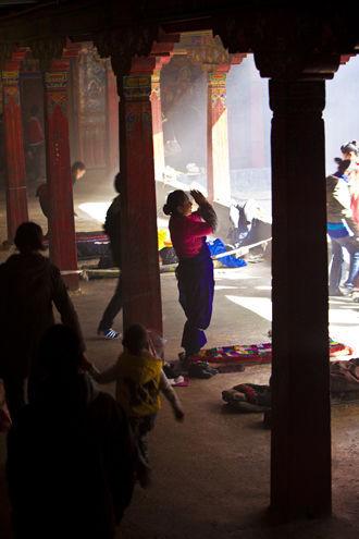 敏珠林寺藏香的味道