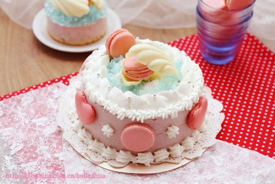 里的a蛋糕蛋糕滋味夹心乳酪慕斯草莓_山东微生杭州美食定胜糕图片