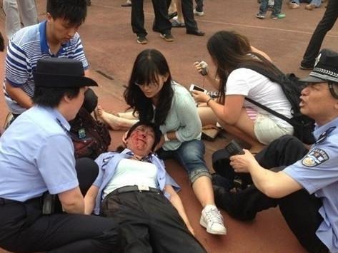 同济大学踩踏事故
