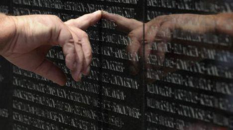 越战老兵纪念墙