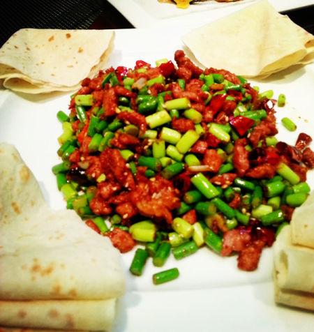 热菜-孜然羊肉