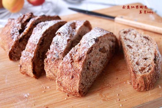 全麦红枣面包