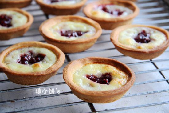 树莓酱蛋挞