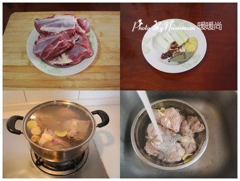 香辣卤牛肉