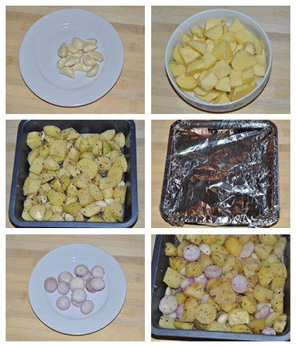 奶油烤土豆