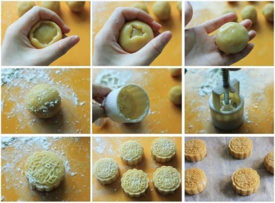 绿豆蓉月饼