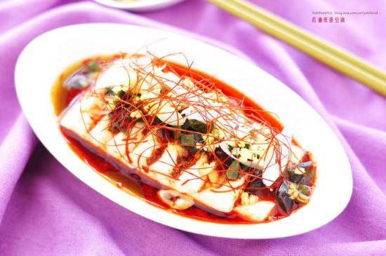 红油皮蛋豆腐
