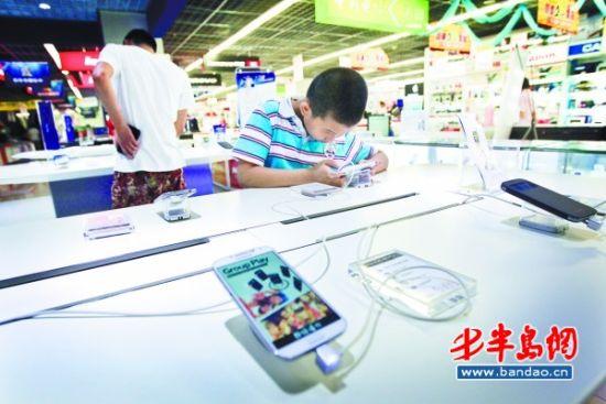 调查称青岛儿童上网比例超5成 专家:或影响情商