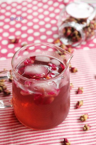 玫瑰蜂蜜冰橙饮