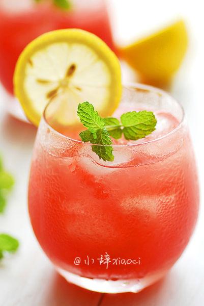 饮品天要常喝的防暑美食西瓜柠爽_绥棱微移动山东高温网-生活客户端图片