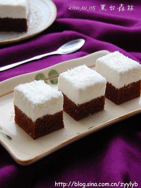 黑白森林蛋糕
