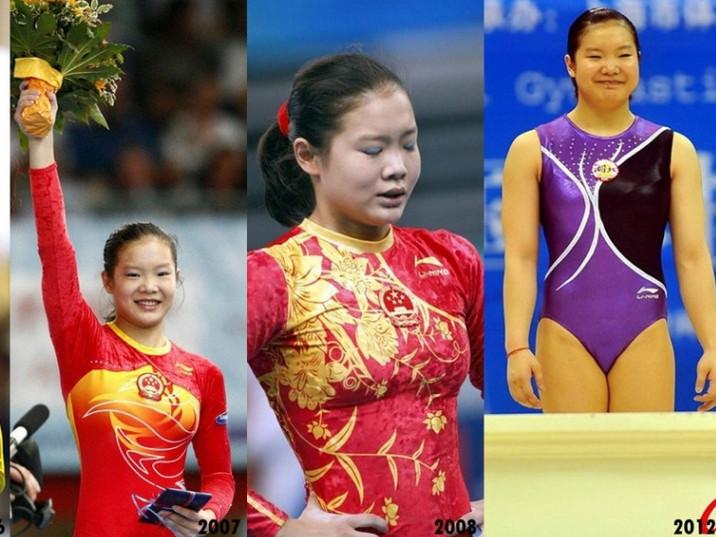 女运动员发育史
