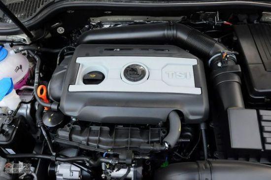 斯柯达2.0TSI发动机