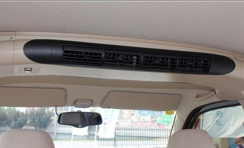 一汽佳宝V80车顶中部的中央空调保证中排和后排的适宜温度