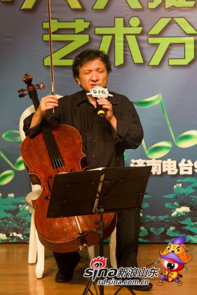 朱亦兵教授分享艺术与生活态度