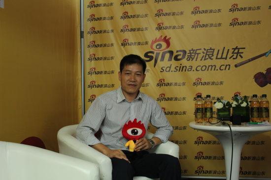 新浪山东专访纳智捷山东鑫大友总经理刘峰