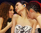 S.H.E南京开唱三人激情热吻引粉丝尖叫