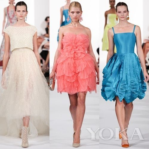 Oscar de la Renta 2014春夏 Collection