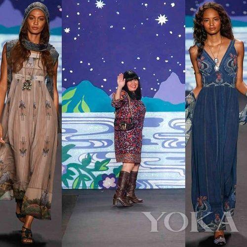 Anna Sui 2014春夏 Collection