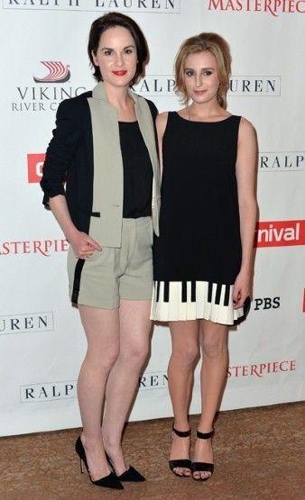 Michelle Dockery和Laura Carmichael