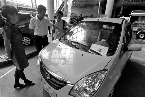 山东将推广低速电动汽车 为国内首试点省份