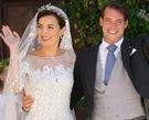 卢森堡王子举行浪漫婚礼众皇室成员出席