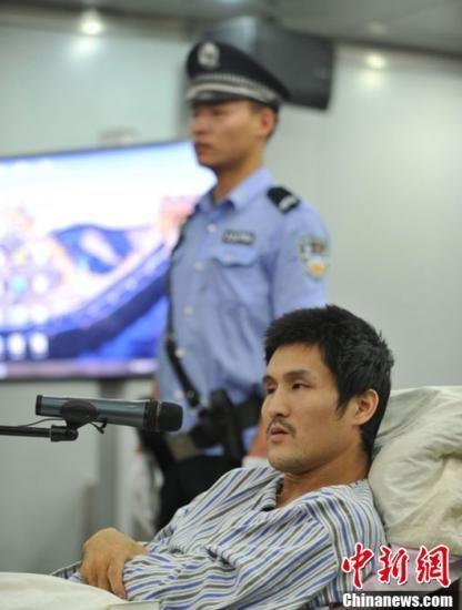 9月17日,北京市朝阳区人民法院公开开庭审理被告人冀中星涉嫌犯爆炸罪一案。(图为朝阳区人民法院发布庭审图片)中新社发