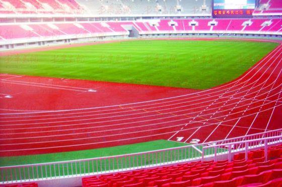 青岛国信体育场通过足协验收