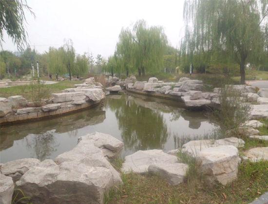 滨州植物园 城市桃花源