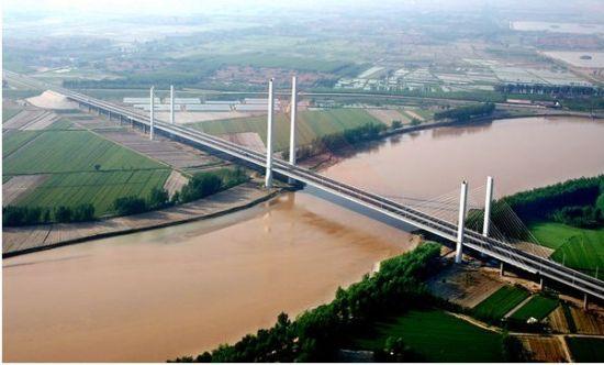 乾县注泔大桥设计图
