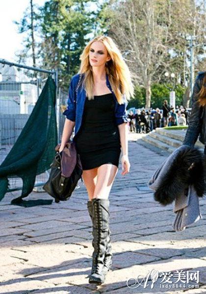 秋冬气场单品推介 时尚长靴穿出女王范