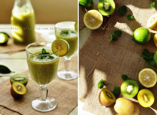 猕猴桃柠檬饮