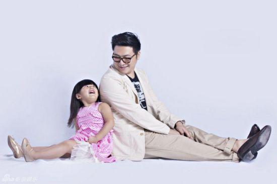 王岳伦和女儿王诗龄
