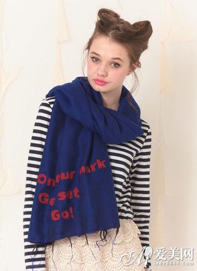 秋冬时尚围巾搭配 给你的造型加分