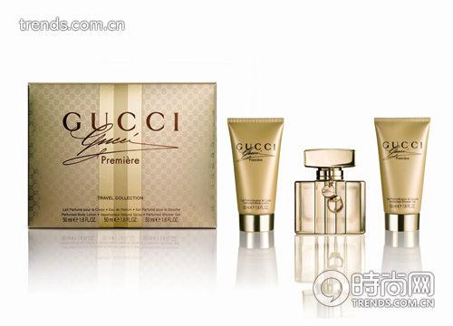 Gucci Première古驰经典奢华香水礼盒EDP50ml&身体乳50ml&沐浴啫喱50ml RMB970