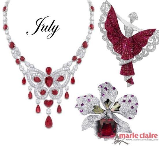 七月——红宝石