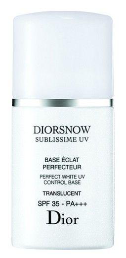 Dior雪晶灵焕白亮采修复隔离霜