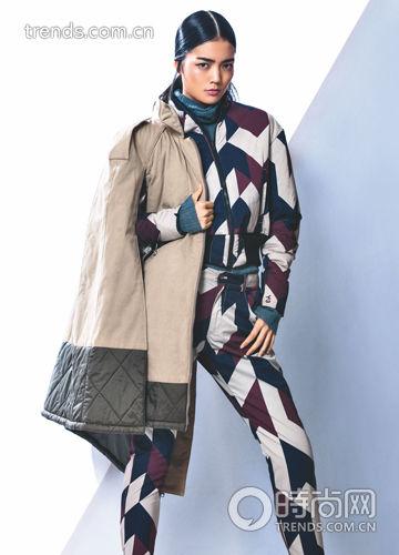 新潮羽绒服 时髦过冬不是梦