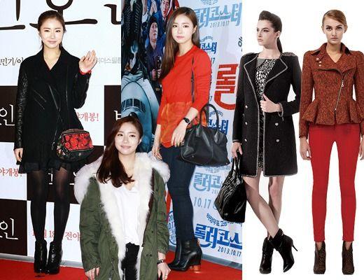 跟随韩星脚步 打造冬季新潮风格