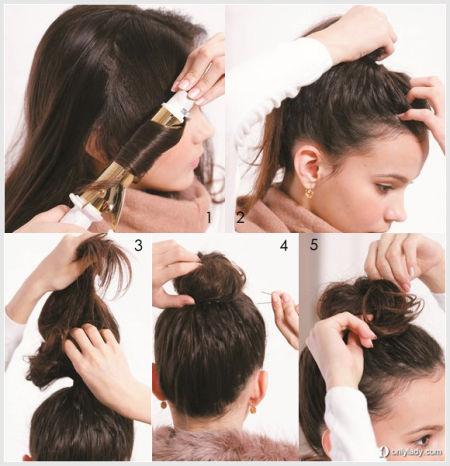 冬季限定发型 必备款扎发技巧
