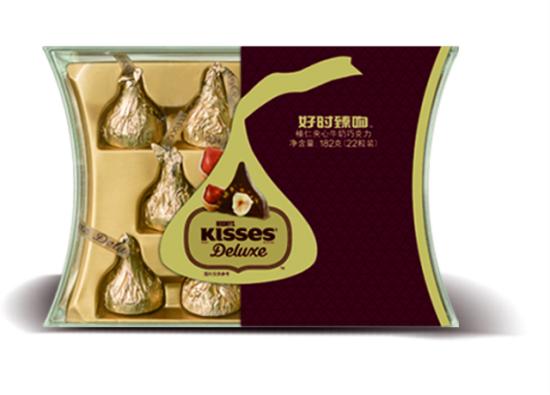 好时臻吻榛仁夹心牛奶巧克力
