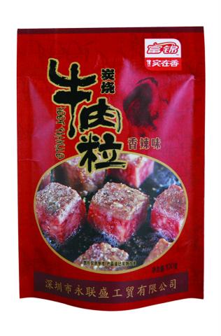 富锦牛肉粒香辣味100g