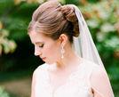 盘点20款最适合头纱的新娘发型