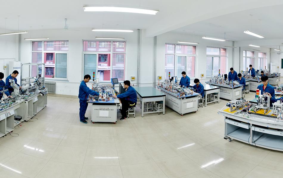 机电装备系自动化  生产线实训室