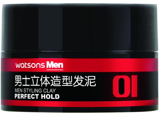 屈臣氏男士立体造型发泥80g ¥35/件