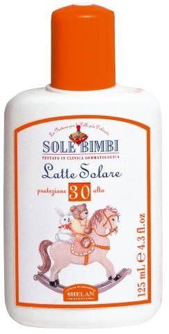 SOLE BIMBI婴儿防晒乳